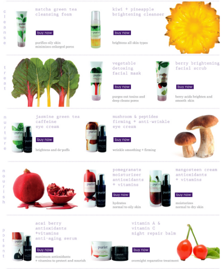 Currently featured Pure Forever products from 100% Pure