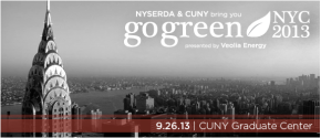 """""""The Future of Fashion"""" at Go Green NYC2013"""