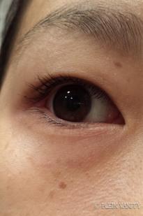 After 2 coats of mascara