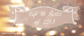 Happy New Year! Top 10 Posts From 2013