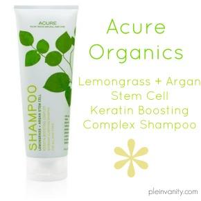 Shampoo Savior: Acure Organics Lemongrass + Argan Stem Cell ShampooReview