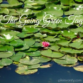 The Going Green Tag
