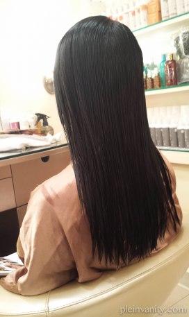 hair back