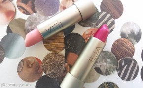 Spring Brights: ILIA Beauty Spring Collection Tinted Lip Conditioners Jump and Hold Me Now Review